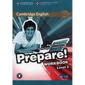 Cambridge English Prepare! Level 3 Work Book with Downloadable Audio (підручник+аудіодиск) - фото обкладинки книги
