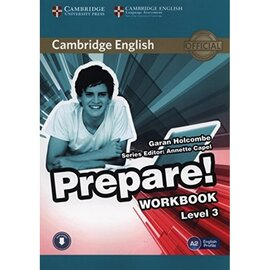 Cambridge English Prepare! Level 3 Work Book with Downloadable Audio (підручник+аудіодиск) - фото книги