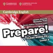 Cambridge English Prepare! Level 4 Class Audio CDs (аудіодиск) - фото обкладинки книги