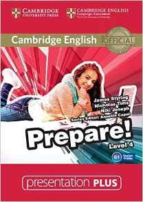Cambridge English Prepare! Level 4 Presentation Plus DVD-ROM (DVD диск) - фото книги