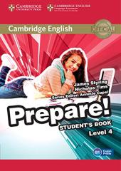 Cambridge English Prepare! Level 4 SB (підручник) - фото обкладинки книги