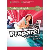 Cambridge English Prepare! Level 4 Student's Book with Companion for Ukraine (підручник) - фото обкладинки книги