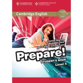 Cambridge English Prepare! Level 4 Student's Book with Companion for Ukraine (підручник) - фото книги