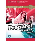 Cambridge English Prepare! Level 4 Work Book with Downloadable Audio (робочий зошит) - фото обкладинки книги