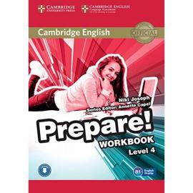 Cambridge English Prepare! Level 4 Work Book with Downloadable Audio (робочий зошит) - фото книги