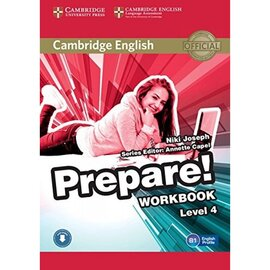 Cambridge English Prepare! Level 4 Work Book with Downloadable Audio (робочий зошит) - фото книги