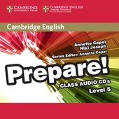 Cambridge English Prepare! Level 5 Class Audio CDs (аудіодиск) - фото обкладинки книги