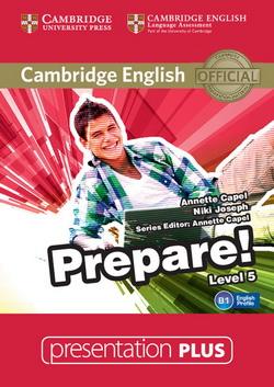 Cambridge English Prepare! Level 5 Presentation Plus DVD-ROM (DVD диск) - фото книги