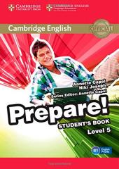 Cambridge English Prepare! Level 5 SB (підручник) - фото обкладинки книги