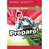 Cambridge English Prepare! Level 5 Student's Book + online Work Book(робочий зошит) - фото обкладинки книги