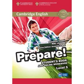 Cambridge English Prepare! Level 5 Student's Book + online Work Book(робочий зошит) - фото книги