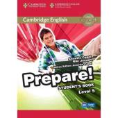 Cambridge English Prepare! Level 5 Student's Book with Companion for Ukraine - фото обкладинки книги
