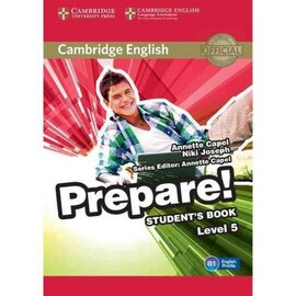 Cambridge English Prepare! Level 5 Student's Book with Companion for Ukraine - фото книги