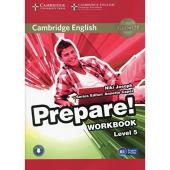 Cambridge English Prepare! Level 5 Work Book with Downloadable Audio - фото обкладинки книги