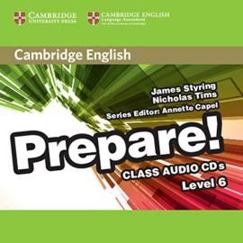 Cambridge English Prepare! Level 6 Class Audio CD's (аудіодиск) - фото книги