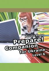 Cambridge English Prepare! Level 6 Companion for Ukraine (буклет) - фото обкладинки книги