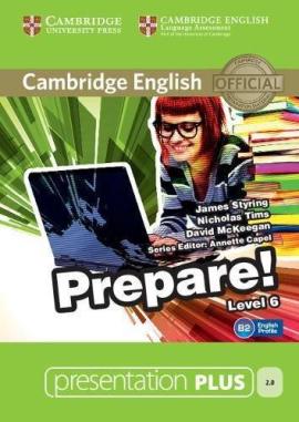Cambridge English Prepare! Level 6 Presentation Plus DVD-ROM (DVD диск) - фото книги