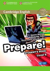 Cambridge English Prepare! Level 6 SB (підручник) - фото обкладинки книги