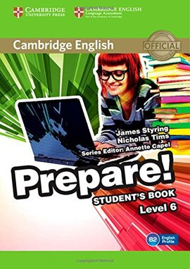 Cambridge English Prepare! Level 6 SB (підручник) - фото книги