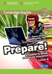Cambridge English Prepare! Level 6 Student's Book and Online Workbook - фото обкладинки книги