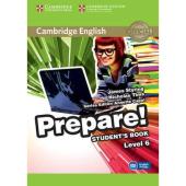 Cambridge English Prepare! Level 6 Student's Book with Companion for Ukraine (підручник) - фото обкладинки книги