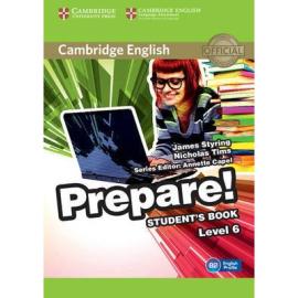 Cambridge English Prepare! Level 6 Student's Book with Companion for Ukraine (підручник) - фото книги