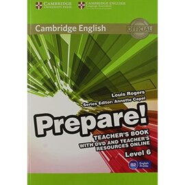 Cambridge English Prepare! Level 6 Teacher's Book+DVD (книга вчителя+аудіодиск) - фото книги