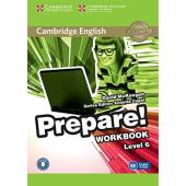 Cambridge English Prepare! Level 6 Work Book with Downloadable Audio (робочий зошит) - фото обкладинки книги