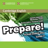 Cambridge English Prepare! Level 7 Class Audio CDs (3) - фото обкладинки книги