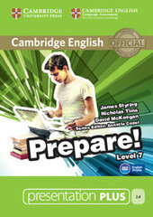 Cambridge English Prepare! Level 7 Presentation Plus DVD-ROM - фото обкладинки книги