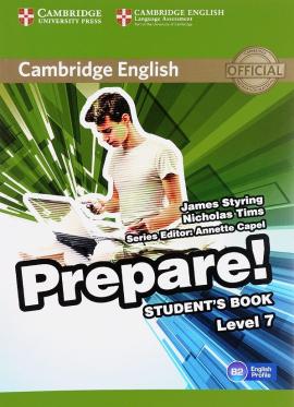 Cambridge English Prepare! Level 7 SB - фото книги