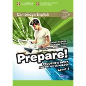 Cambridge English Prepare! Level 7 Student's Book + online Work Book (підручник) - фото обкладинки книги