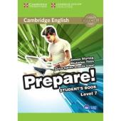 Cambridge English Prepare! Level 7 Student's Book with Companion for Ukraine (підручник) - фото обкладинки книги