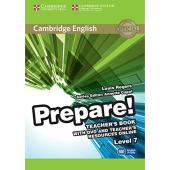 Cambridge English Prepare! Level 7 Teacher's Book+DVD(книга вчителя+аудіодиск) - фото обкладинки книги