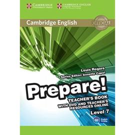 Cambridge English Prepare! Level 7 Teacher's Book+DVD(книга вчителя+аудіодиск) - фото книги