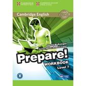 Cambridge English Prepare! Level 7 Work Book with Downloadable Audio (робочий зошит) - фото обкладинки книги