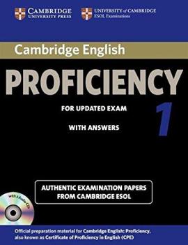 Cambridge English Proficiency 1 Self-study Pack (підручник+аудіодиск) - фото книги