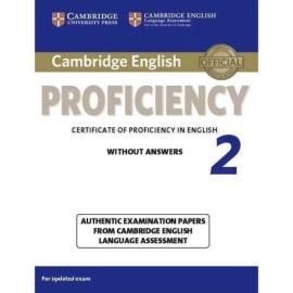 Cambridge English Proficiency 2 Student's Book without Answers (підручник) - фото книги