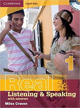 Cambridge English Skills Real Listening and Speaking 1 with Answers and Audio CD - фото книги