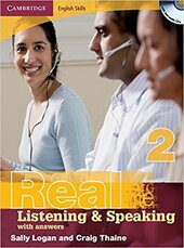 Cambridge English Skills Real Listening and Speaking 2 with Answers and Audio CD - фото обкладинки книги