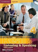 Книга для вчителя Cambridge English Skills Real Listening and Speaking Level 4 with Answers and Audio CDs