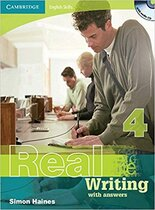 Комплект книг Cambridge English Skills Real Writing 4 with Answers and Audio CD