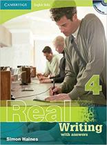 Робочий зошит Cambridge English Skills Real Writing 4 with Answers and Audio CD