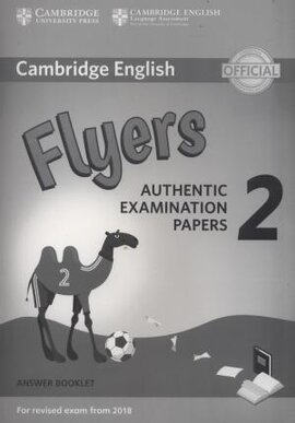 Посібник Cambridge English Young Learners 2 for Revised Exam from 2018 Flyers Answer Booklet