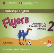 Комплект книг Cambridge English Young Learners 2 for Revised Exam from 2018 Flyers Audio CDs