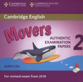 Cambridge English Young Learners 2 for Revised Exam from 2018 Movers Audio CDs (аудіодиск) - фото книги