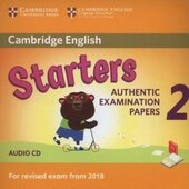 Cambridge English Young Learners 2 for Revised Exam from 2018 Starters CD: Authentic Examination Papers - фото обкладинки книги