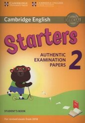 Cambridge English Young Learners 2 for Revised Exam from 2018 Student's Book: Authentic Examination Papers - фото обкладинки книги