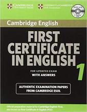 Cambridge FCE 1 Self-study Pack for update exam - фото обкладинки книги