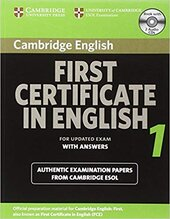 Посібник Cambridge FCE 1 Self-study Pack for update exam